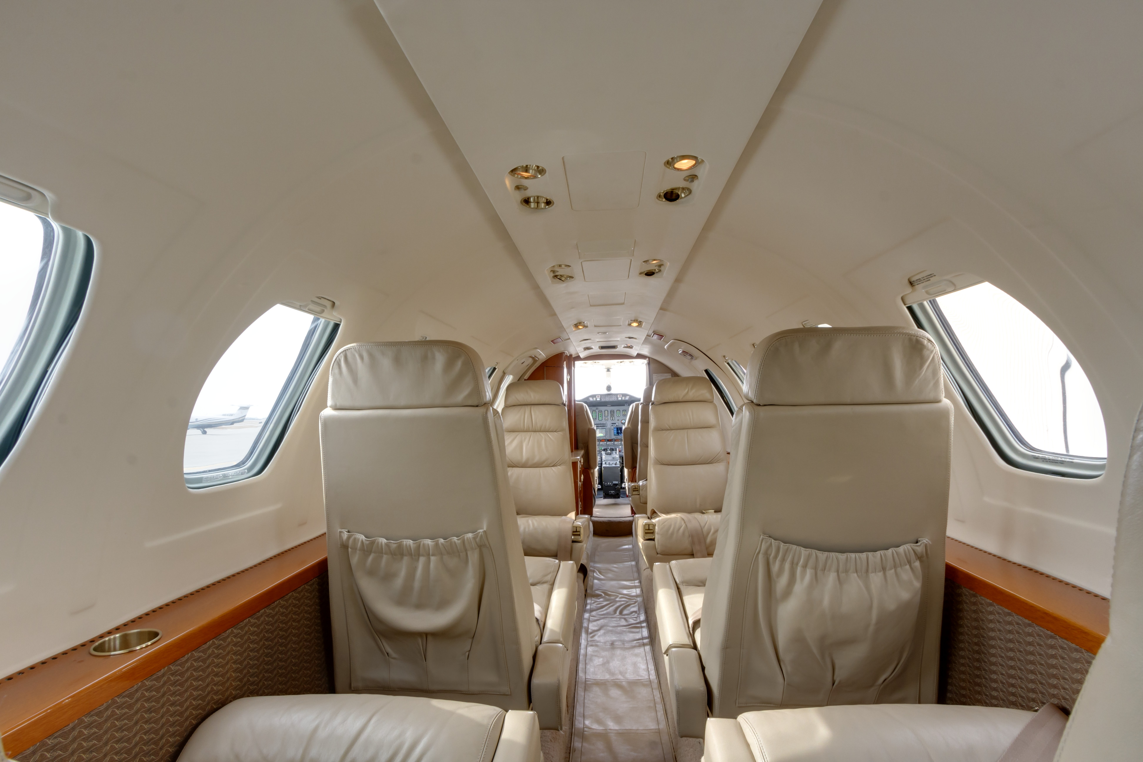 fargo-jet-center-citation-SII-interior