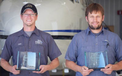 Chris Eggl & Seth Lundberg Receive Master Technician – Mechanical Airframe Certificates
