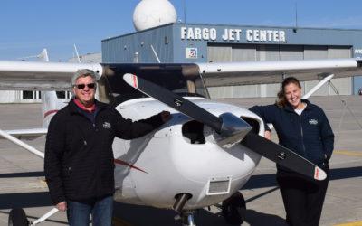 Fargo Jet Center Flight School Soared to Record-High Training Accomplishments in 2020