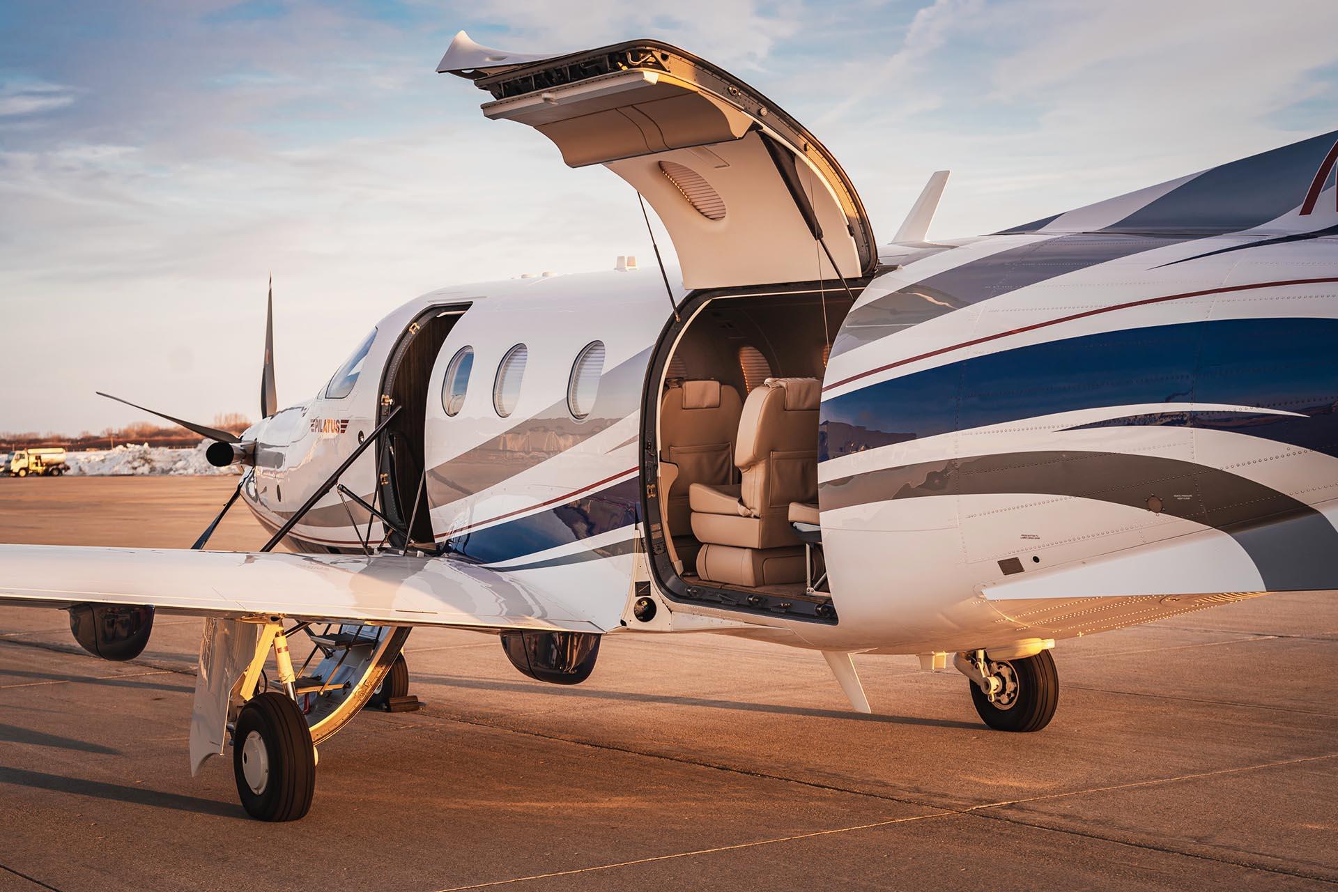 fargo jet center premier jet center pilatus pc12 paint services interior services
