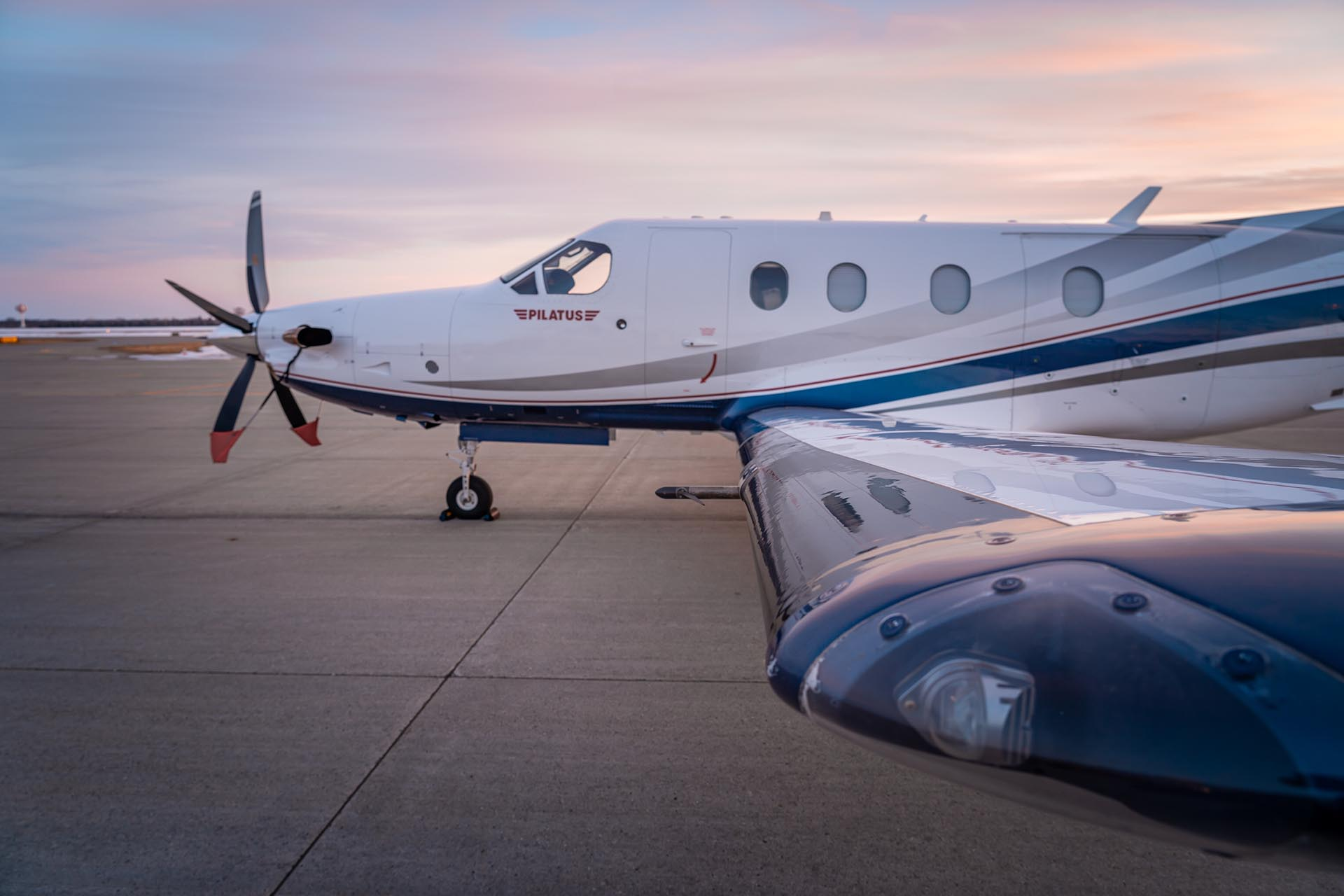 fargo jet center pc-12 pilatus aircraft