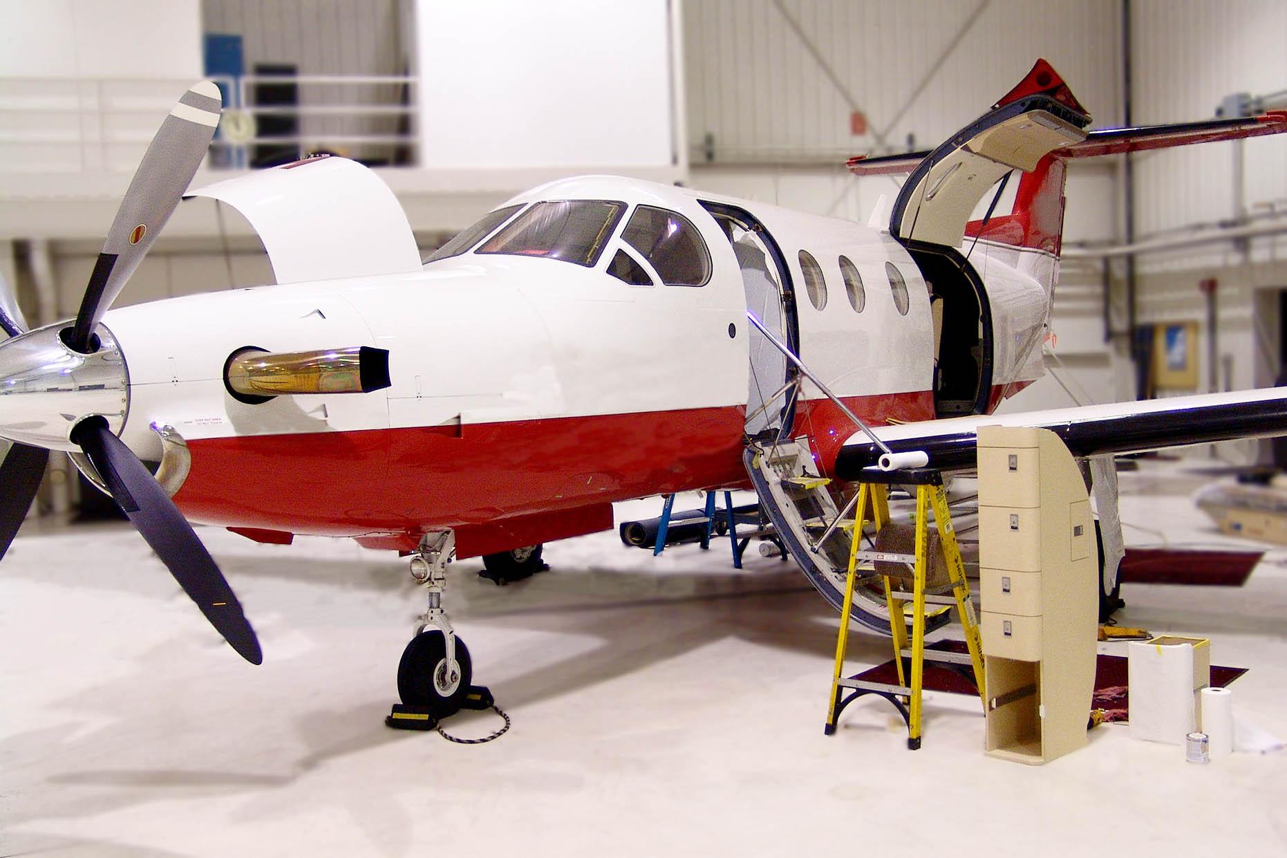 fargo jet center pc-12 pilatus service