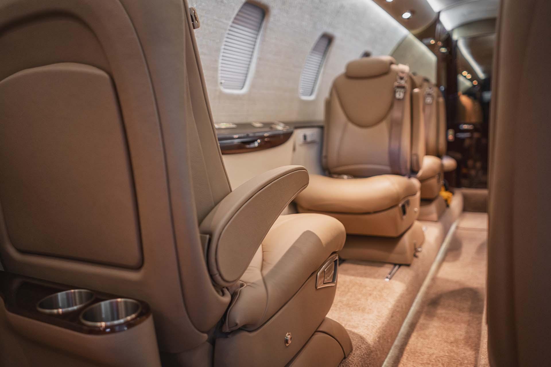 Cessna Citation XLS Interior Refurbishment Premier Jet Center