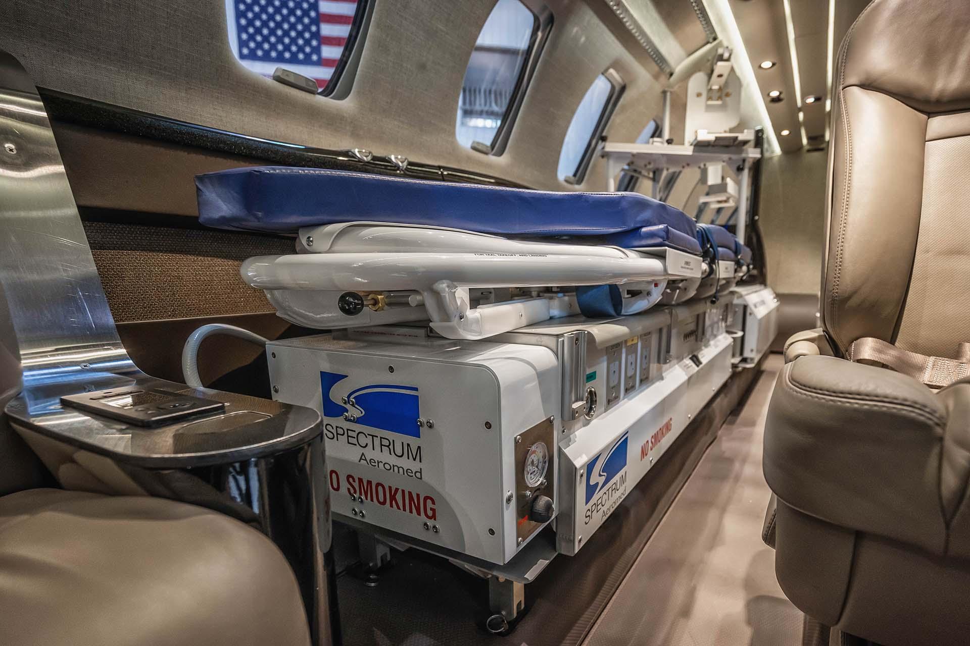 cessna citation cj4 air medical installation