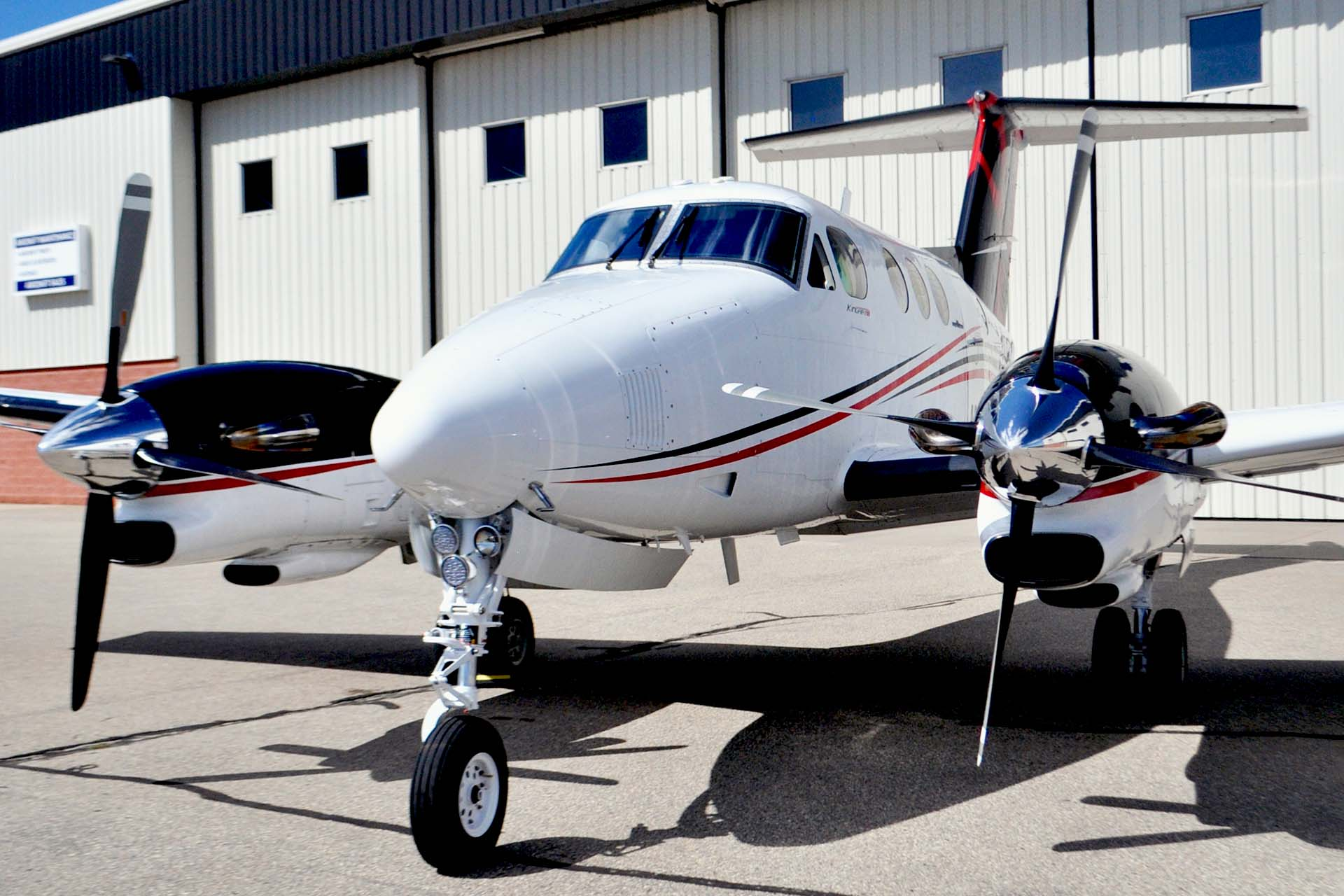 king air 90 paint refurbishment premier jet center kfcm