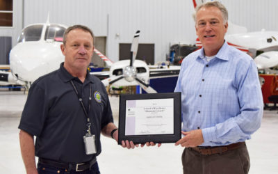 Fargo Jet Center Earns FAA Diamond Award of Excellence for Aircraft Maintenance Training